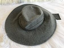 Pringle of Scotland Floppy Brim Hat Cashmere Wool Wide Coachella Festival Large