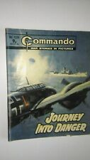 Commando War Comic 1224 1978 Journey Into Danger Free UK P&P