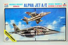 1/48 ESCI DASSAULT French/German ALPHA JET AE Plane Kit NEW Sealed Bag FREE SHIP