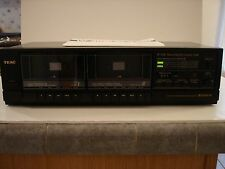 USED Teac W-310C Stereo Dual Cassette Tape Deck Player