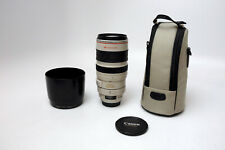 Canon Zoom Lens EF 100-400mm 1:4.5-5.6 L IS Ultrasonic Used Excellent w/ Case
