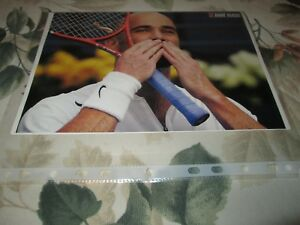 Andre Agassi - Vintage photo