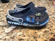 Crocs Star Wars Luke Skywalker Lights Navy Blue Kids Size 1