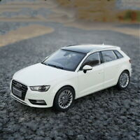 1/18 Scale Audi A3 Sportback White DieCast Car Model Toy Collection Gift