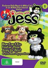 Guess with Jess: How Can I Go Faster Than Joey and Jinx? and Five NEW R4 DVD