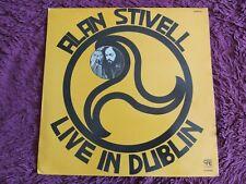Alan Stivell – Live In Dublin Vinyl LP 1983 Spain 30100129