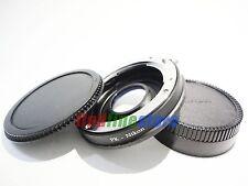 with glass Pentax K PK Lens to Nikon AI F D750 D90 adapter infinity focus + caps
