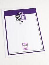 DAVO EASY BLACK Self-Adhesive MOUNTS E135