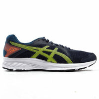 Asics Jolt 2 Mens Adults Running Fitness Trainer Shoe Navy Blue/Green/Orange