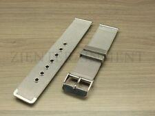 18-24 MM Stainless Steel Metal Shark Mesh Bracelet Watch Band Strap Silver Black