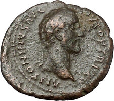 ANTONINUS PIUS 148AD Munificentia RARE Authentic Ancient Roman Coin i40846