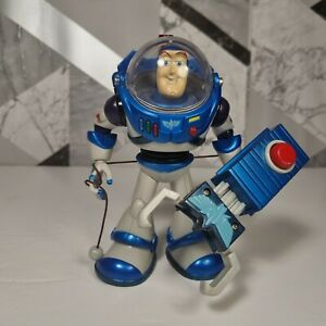 Toy Story and Beyond Buzz Lightyear Space Rescue Code Blue Figure EuroDisney