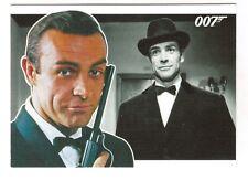 2010 JAMES BOND 007 HEROES & VILLAINS COMPLETE 81-CARD SET