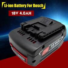 18V 4.0AH Lithium-Ion Fat Pack Battery High Capacity Power For Bosch Tools