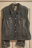 Pre-Owned Women's Anne Taylor LOFT Denim Jacket & Jean Set