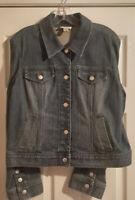 Pre-Owned Women's Anne Taylor LOFT Denim Jacket & Jean Set