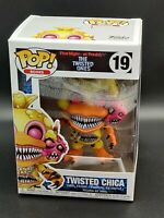 Twisted Chica Five Nights at Freddy's Twisted Ones Funko Pop #19 *Free Protector