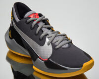 Nike Zoom Freak 2 Taxi Men's Black Silver Athletic Basketball Sneakers Shoes