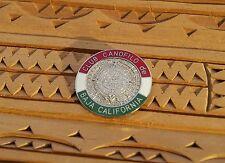 Club Canofilo de Baja California Mayan Calendar Dog Kennel Enamel Pin Pinback
