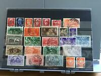 Italy 1929 to 1931 mounted mint and used stamps  R25204