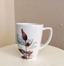 1 Corelle Coordinates Tea/Coffee Mug Porcelain White With Floral Design