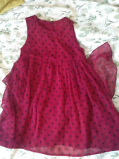 girls party dress by Nutmeg / age: 5 - 6 years / sleeveless / good condition