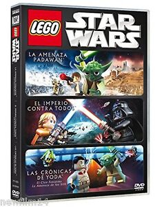LEGO STAR WARS TRILOGIA [DVD] NUEVO ( SIN ABRIR )