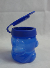Tupperware Max the MONKEY Snack Container w/ Flip Open Blue Seal New