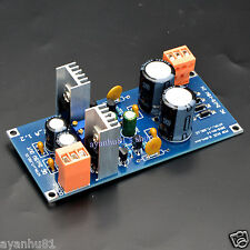 Dual DC 12V 15V 0.7A Discrete Regulator Power Supply Board DAC Headphone Pre AMP