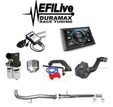 Chevy GMC Duramax LML 6.6L 2011-2015 EGR DPF DEF Delete Kit EFI Live Tuner New