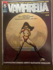 Vampirella Commemorative Edition #1 Silver Foil Rare Collectors Comic Book 2001