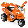 BCP 6V Kids 3-Wheel Motorcycle Ride-On w/ LED Lights, Music, Storage
