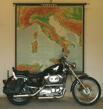Wall Map Italy Alps Adriatic Sea Mediterranean 1965 180x180cm Vintage Chart