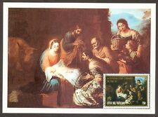 Vatican City Sc# 1019: Christmas 1996, Maxi Card