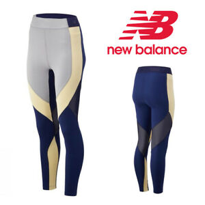 XSmall New Balance Reclaim Hybrid Sports Running Tights WP93102 Multicoloured XS