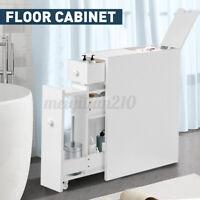Floor Cabinet Unit Freestanding Bathroom Storage Cupboard w/4 Drawer