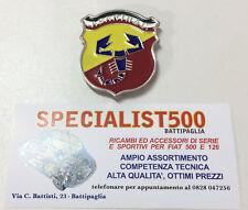 FIAT   500 -126  FREGIO SMALTATO PER MASCHERINA ABARTH