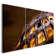 Quadro moderno Colosseo vol I stampa su tela canvas intelaiato ® quality