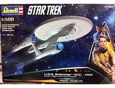 NUOVO REVELL 04882 1/500 STAR TREK USS Enterprise NCC-1701 nelle tenebre