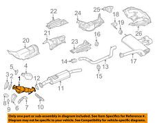 2000-04 FORD FOCUS 2.0L ENGINE FRONT EXHAUST FLEX PIPE ENGINE CODE P