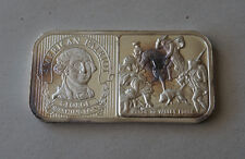 20 GRAMS .999 THE SILVER MINT GEORGE WASHINGTON AMERICAN PATRIOT BAR