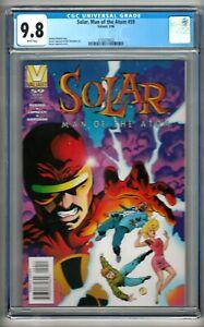 Solar, Man of the Atom #59 (1996) CGC 9.8  White Pages  Bedard - Lopresti
