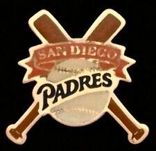 San Diego Padres Baseball Pin Badge ~ MLB ~ Cross Bats