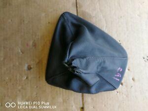 BMW 3 Series E90 E91 E92 E93 BLACK  Leather Gear Stick Gaitor Cover PN 8037309
