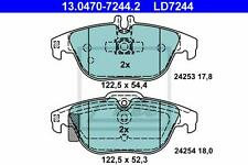ATE Ceramic Brake Pads Rear Mercedes C E-Class (w204 c204 s204 a207 c207)