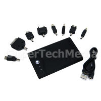5000mAh External Portable Battery Power Pack For iPhone 4 3Gs and More! Black
