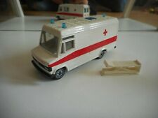 Siku Mercedes 809 D Ambulance in WHite