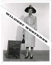 Rare NANCY KULP vintage original photo hat test Gay Interest Beverly Hillbillies