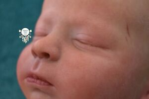 *Bohemian Babies* Realborn Canon asleep by Bountiful Baby reborn boy