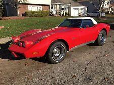 1973 Chevrolet Corvette L82 convertible